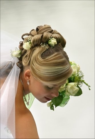 Прически для невесты - свадебные прически и стрижки