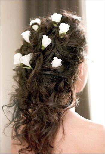 hairs.net.ua. свадебные прически на средние волосы.