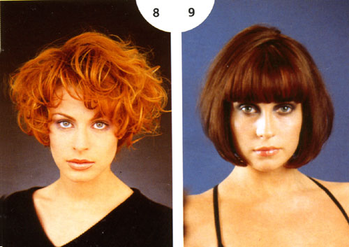 8. Eric Bachelet для L'Oreal Coiffure / 9. Mirage Classic Cuts