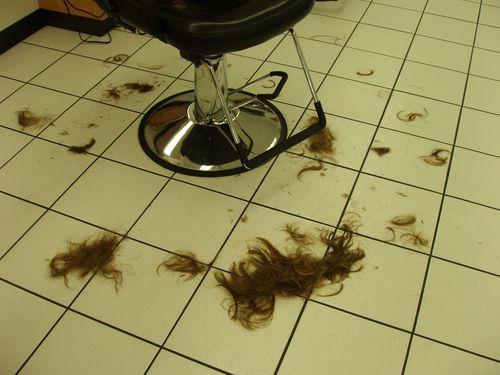 Кресло и волосы