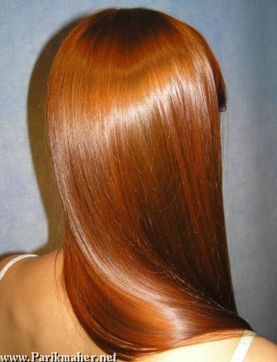 Маска для волос для блеска длинные волосы