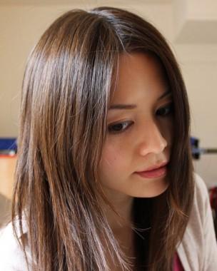 Фото на тему на светлые волосы сделать тёмное мелирование.