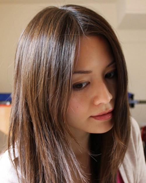 мелирование шатуш на светлые волосы фото